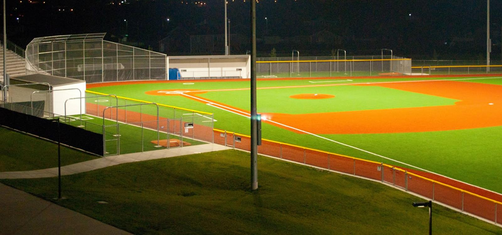 Bismarck Public Schools Athletic Complex Baseball Field