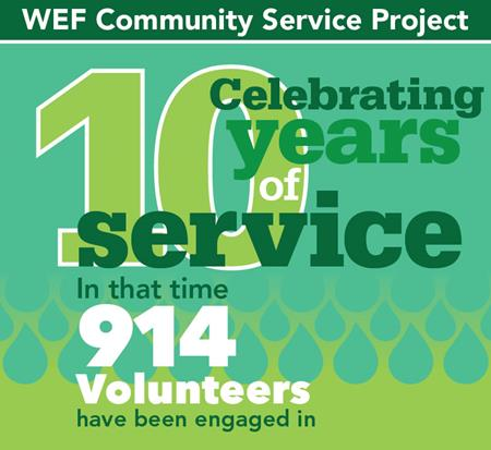 WEF Service Project Logo