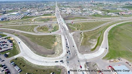 ACEC ND Award Winning 32nd Avenue South Aerial