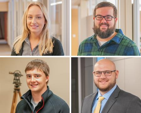 Four New Employees Join the Apex Team