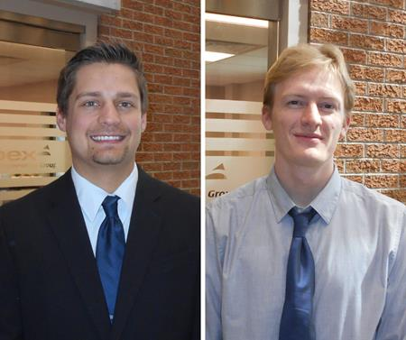 Apex Hires Two New Graduate Engineers